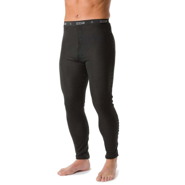 EDZ All Climate Wicking Base Layer Leggings Mens Black