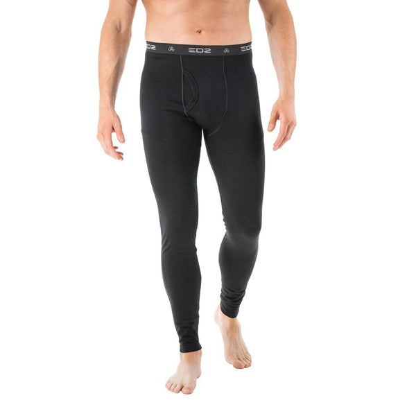 EDZ 200gsm Merino Men's Leggings Black