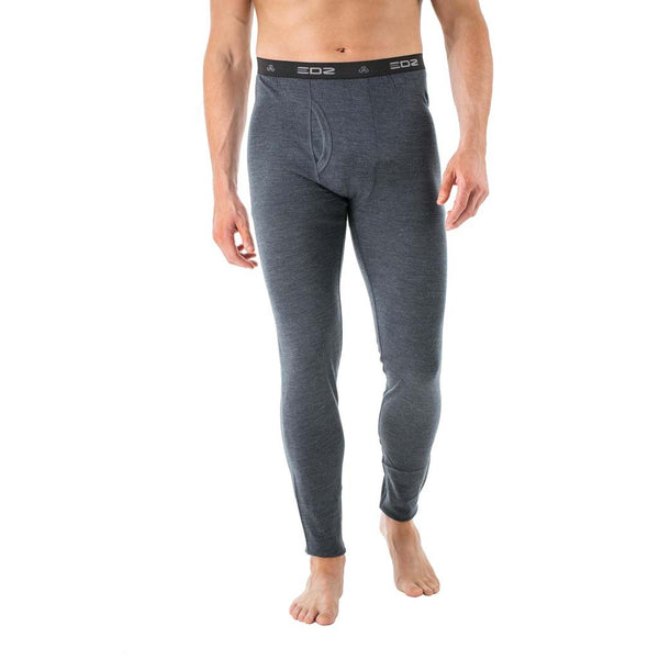 EDZ 200gsm Merino Wool Base Layer Leggings Graphite Grey