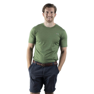 EDZ Merino Wool 135gsm T-shirt Mens Olive Green