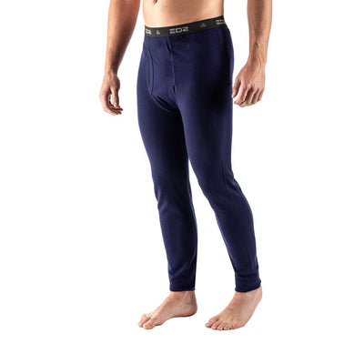 EDZ 260gsm Merino Wool Base Layer Leggings Indigo Blue