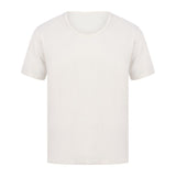 EDZ Merino Wool Thermal Underwear T-shirt Men's Natural White