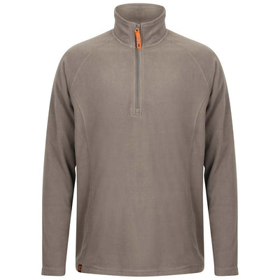 EDZ Microfleece Midlayer 1/4 Zip Neck Steel Grey