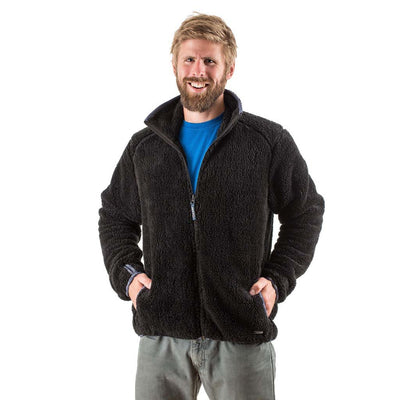 EDZ Yeti Fleece Jacket Black
