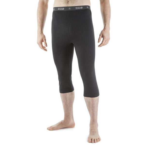 EDZ 200gsm Merino Men's 3/4 Length Capri Leggings (running/cycling tights)
