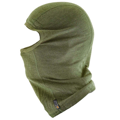 EDZ Merino Wool Thermal Balaclava - Olive Green