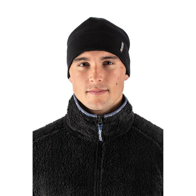 EDZ Merino Wool Thermal Beanie Hat Black