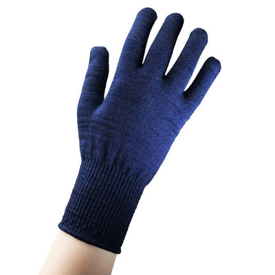 EDZ merino thermal liner gloves blue main image