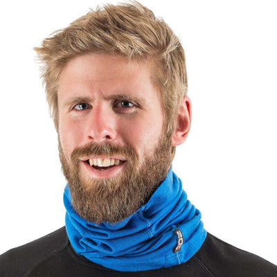 EDZ Merino 200gsm Multi-tube Neck Warmer Blue