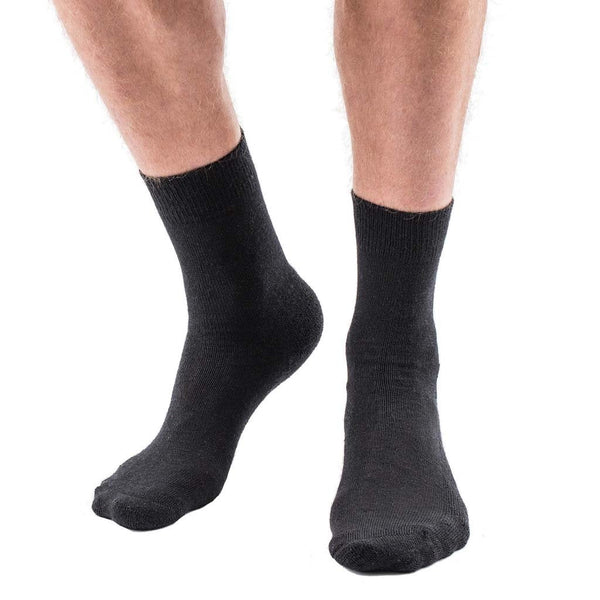 EDZ Merino Wool Thermal Liner Socks Black