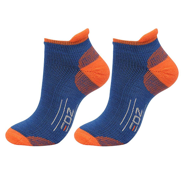 EDZ All Sport Merino Trainer Socks Blue 2 Pack