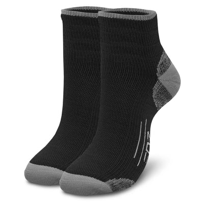 EDZ Merino Running Socks Black