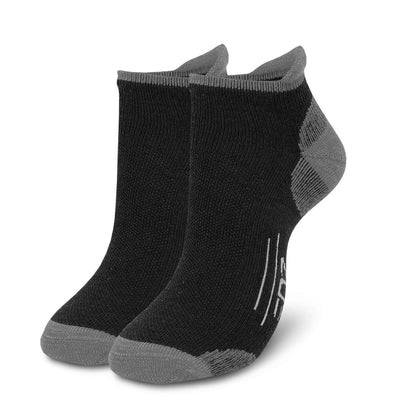 EDZ Merino Trainer Socks Black