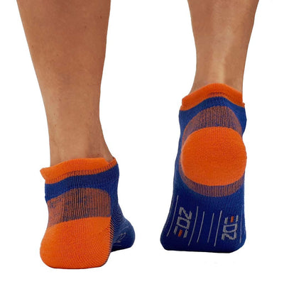 EDZ All Sport Merino Trainer Socks Blue 4 Pack