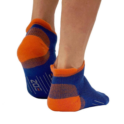 EDZ All Sport Merino Trainer Socks Blue