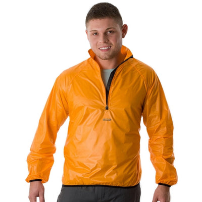 EDZ Ultrashell Windshell Jacket Hi-Viz Orange Pertex Microlight