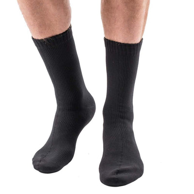 EDZ Waterproof Socks with Merino Lining Plain Black