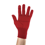 EDZ Merino Wool Touchscreen Gloves Red