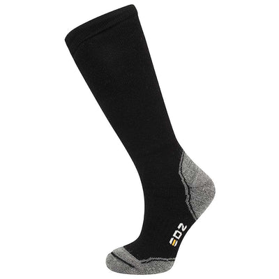 EDZ Merino Wool Calf Length Boot Socks (Black)