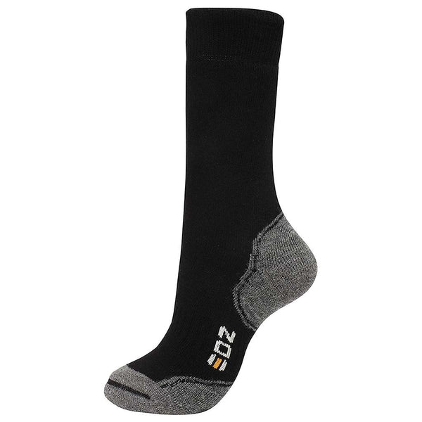EDZ Merino Wool Boot Socks Standard Length (Black)
