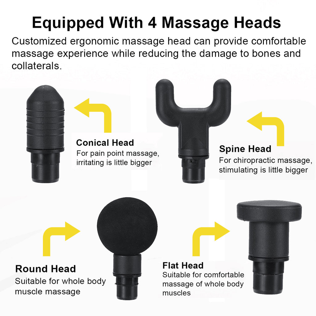 MassageElite™ Trigger Point Therapy Percussion Wand Handheld Muscle Massager Device