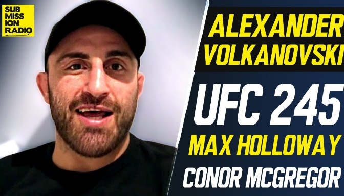 Alexander Volkanovski doesn't want to 'sound disrespectful'