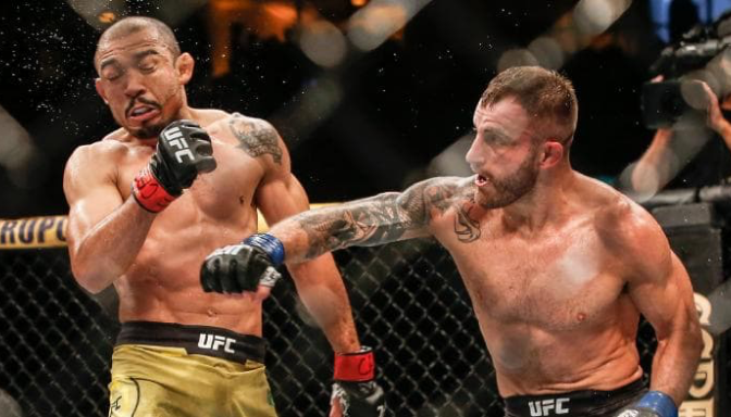 Volkanovski defeats Jose Aldo in Brazil