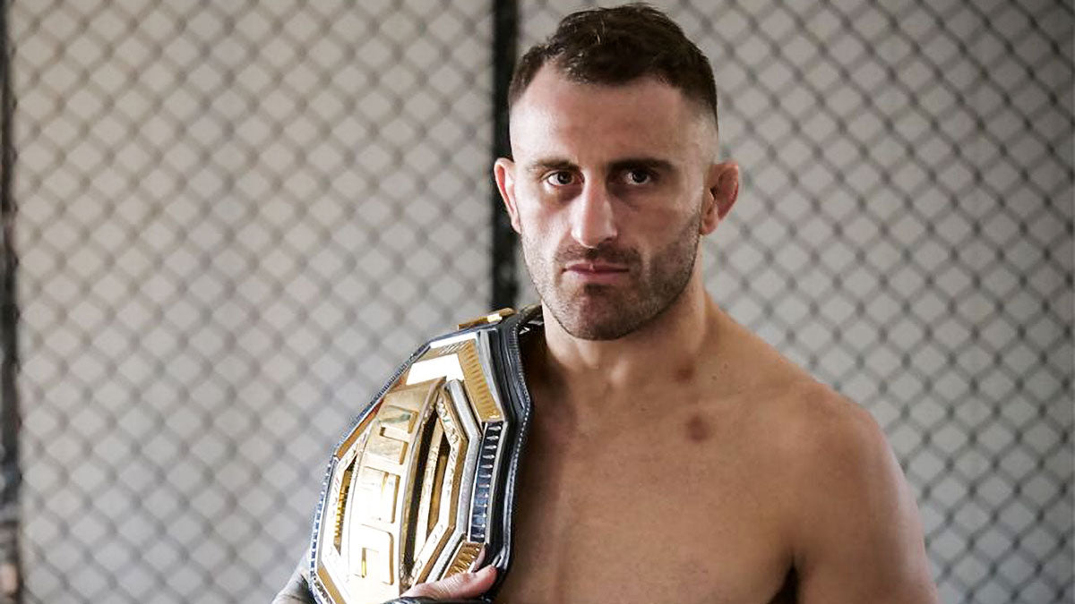 UFC Champion Alex Volkanovski quarantined after defending title on 'Fight Island'