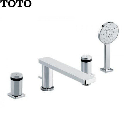 TOTO TX447SMBR Deck Mounted 4 Holes Combination Bath-積高五金Jaco Hardware