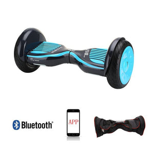 Free shipping Hoverboard 10 inch two wheel smart self balancing scooter electric skateboard with Bluetooth speakers giroskuter