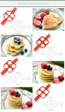 Load image into Gallery viewer, Fun Non-Stick Pancake Silicone Mold