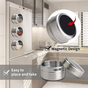 Magnetic Spice Tins