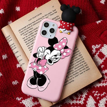Load image into Gallery viewer, Cute Cartoon Mouse iPhone Case