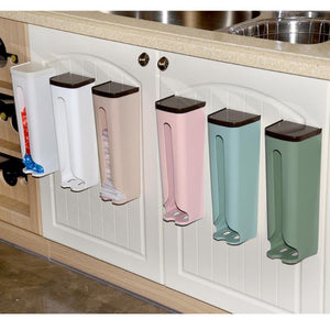 Wall-Mounted Garbage Bag Holder