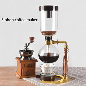 Japanese-Style Glass Siphon Coffee/ Tea Maker