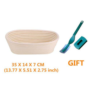 Hot Bread Fermentation Rattan Basket