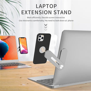 Laptop Expansion Phone Holder