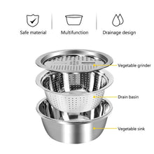 Load image into Gallery viewer, Multifunctional Stainless Steel Grater
