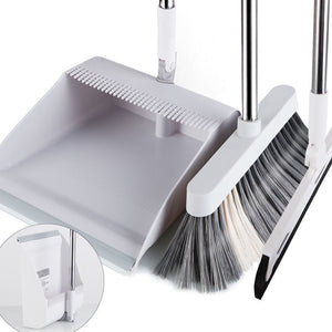 Foldable Dustpan And Broom