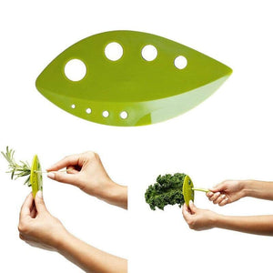 Leaf-Shaped Vegetable Stripper