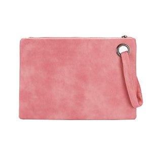 Fashion solid women's clutch leather women envelope bag - Nova Dream Shop