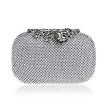 Load image into Gallery viewer, Evening Clutch Bags Diamond-Studded Evening Bag With Chain Shoulder Bag Handbags Wallets - Nova Dream Shop