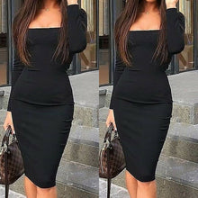 Load image into Gallery viewer, Sexy Slim Fit OL Clothes Office Lady Elegant Dress - Nova Dream Shop