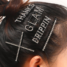 Load image into Gallery viewer, Simple Message Hair Clips Hair Accessories - Nova Dream Shop