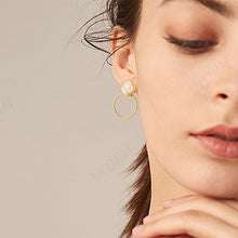 Load image into Gallery viewer, Fashion Round Dangle Drop Earrings For Women - Nova Dream Shop