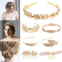 Load image into Gallery viewer, Metal Gold Leaf Butterfly Hair Headbands Girls Bride - Irene Cheung