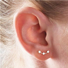 Load image into Gallery viewer, Five-pointed star minimalist Korean earrings - Nova Dream Shop