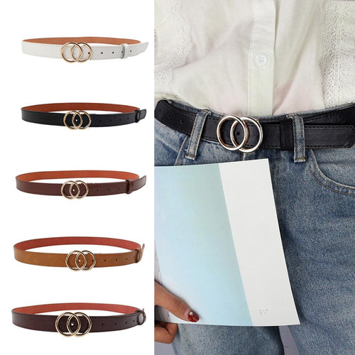 Vintage Casual Soft Faux Leather Belt - Nova Dream Shop
