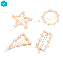 Load image into Gallery viewer, Hair Accessories Triangle Hair Clip Pin Metal Geometric Alloy - Nova Dream Shop