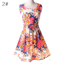 Load image into Gallery viewer, Casual Summer Chiffon Dress Women Sexy Floral Short Beach - Irene Cheung